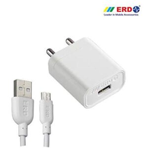 ERD TC-50 Mobile Charger  (White, Cable Included)
