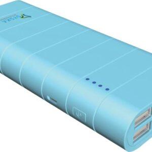 Syska 10000 mAh Power Bank (Power Boost 100)  (Blue, Lithium-ion)