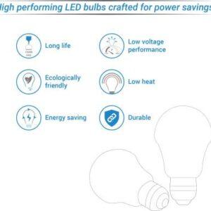 Syska Led Lights 12W Standard B22 LED Bulb (White, Pack of 2)